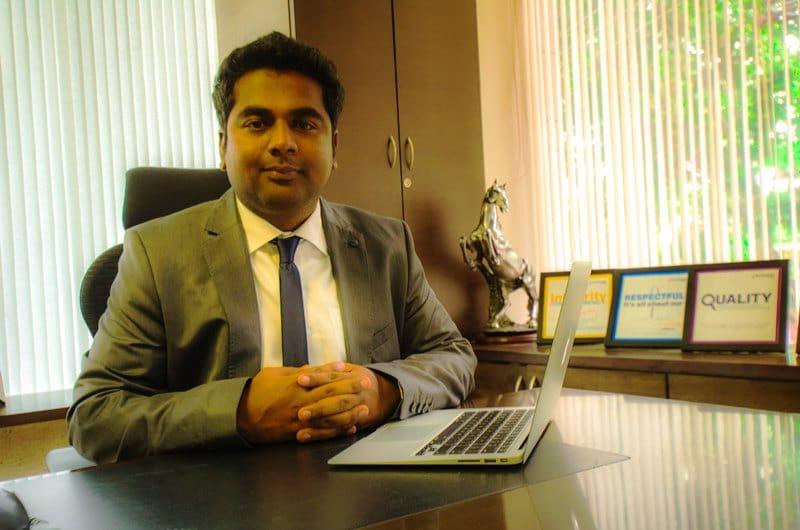 Mr R.G Sunil, Executive Director, Concorde Group
