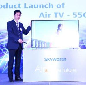 Skyworth Launches World's Slimmest High-technology TV