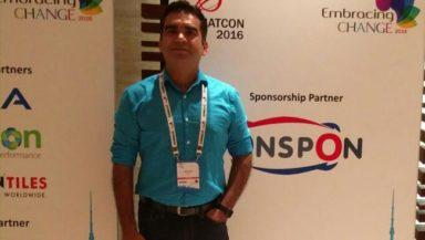 HItesh Gossain, CEO - OnSpon.com. He is an MBA from the prestigious IIM-Ahmedabad.