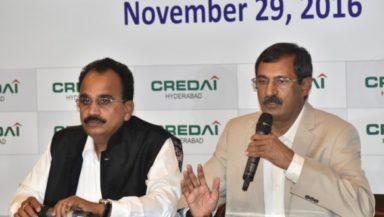 Demonetisation to strengthen Real Estate Sector: CREDAI Hyderabad