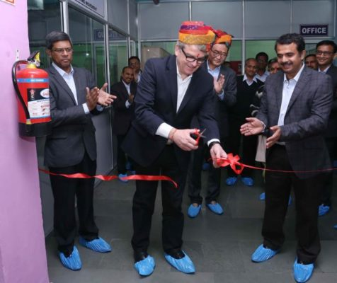 Alberto Slikta, Managing Director, Specialty Coatings, AkzoNobel inaugurates a first-of-its-kind Specialty Coatings facility in Noida, Uttar Pradesh