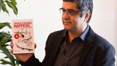 Mr Lalit Jagtiani, Author, When Change Happens