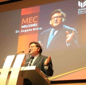 Prof. Sugata Mitra is a well known educationist and a Professor of Educational Technology at the School of Education, Communication and Language Sciences at Newcastle University, UK.