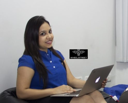 Moksha Srivastava - Co Founder, CMO and Spokesperson of Wheelstreet.