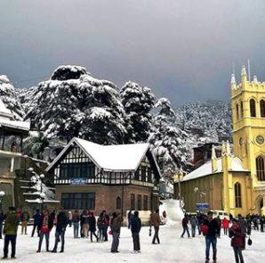 Tourists choose Shimla over Kashmir for peaceful atmosphere