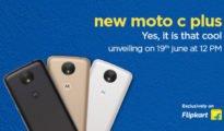 Motorola Moto C Plus exclusively on Flipkart