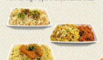 Jet Airways Biryani Festival: Guests in Economy get to savour eight varieties of the delectable Biryani during the Festival