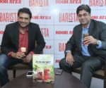 (L-R) Mansoor Ali, CSMO, Hamdard India and Puneet Gulati, CEO, Barista