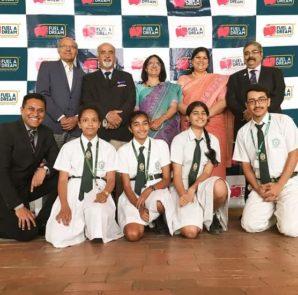 L-R Sundar Ram Shetty, Harish Anand, Priti Soota, Anupama Ramachandra, Dr. Srikanth L-RRanganath Thota, Kavya, Anikya, Gowri, Pranaay