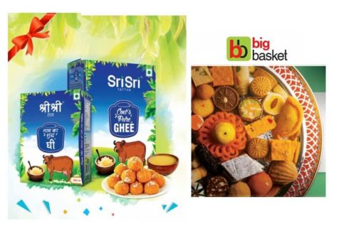 Sri Sri Tattva strengthens its online presence by tying up with Big Basket