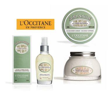 L'Occitane en Provence presents Almond range
