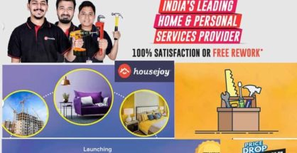 On Demand Home Service Provider Housejoy Launches Construction, Renovation and Interior Services