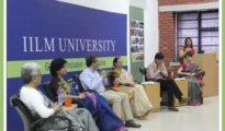 Panelists on the Dias: Dr. Anjana Sen, Ms. Rashmi Malik, Mr. Nishchint Chawla, Dr. Aruna Broota, Dr. Shahnawaz, Dr. Shuchi Agarwal, Prof. Harman Mangat (L to R)