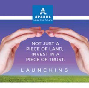 Aparna Constructions launches Aparna Avani – A premium gated community of plots at Patancheru, Hyderabad