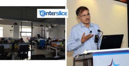 Enterslice Bengaluru Office (L)   Krishnamurthy Parthasarathy (R)