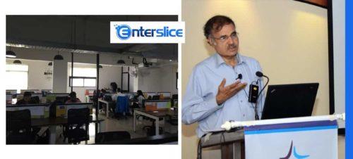 Enterslice Bengaluru Office (L) |  Krishnamurthy Parthasarathy (R)