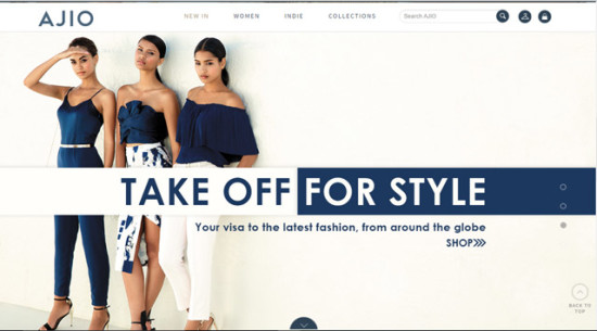 Reliance ventures into online fashion marketplace with AJIO