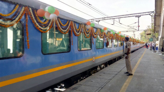India's fastest train flagged off