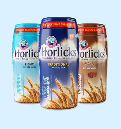 horlicks packaging