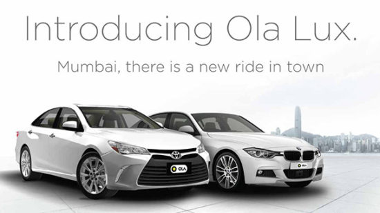 Ola Redefines Travel with a Brand New Luxury Offering – 'Ola Lux'