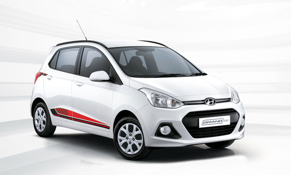 Hyundai launches special edition Grand i10