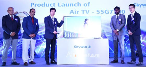 Skyworth Launches World's Slimmest High-technology TV