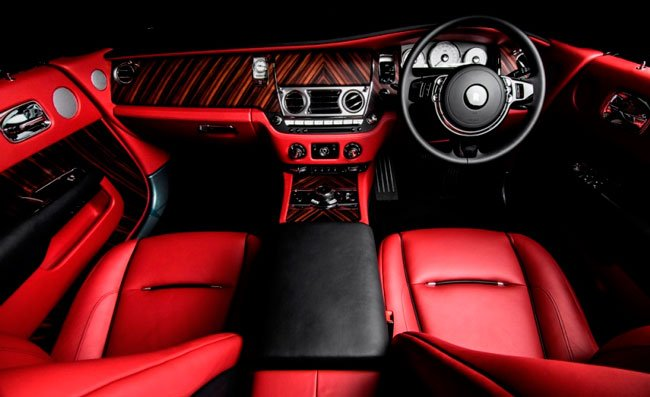 """Super Luxury Motor Car """"Dawn"""" Interiors"""