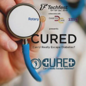 CURED - Can You Really Escape Diabetes? a Rotary District 3141 & IIT-B Initiative. http://www.techfest.org/cured/ and http://rotary3141diabetes.com.