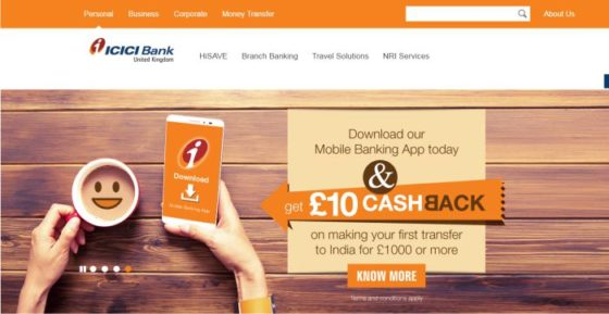CICI Bank UK PLC is a wholly owned subsidiary of ICICI Bank Ltd. (NYSE:IBN). It has a comprehensive online and branch presence in the United Kingdom and provides banking services in Europe through two branches in Germany and Belgium. www.icicibank.co.uk