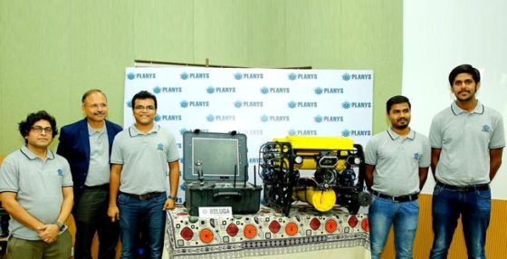 Planys Founding team - Planys brings world-class technology and cutting-edge innovations in underwater robotics and diagnostics to the Indian markets in the shallow depth segment. Planys designs and manufactures compact remotely operated vehicles (ROVs) & provides inspection and survey services. Planys' technology spans the domains of marine robotics, advanced Non-Destructive Testing (NDT), and post-inspection analysis tools. http://www.planystech.com/