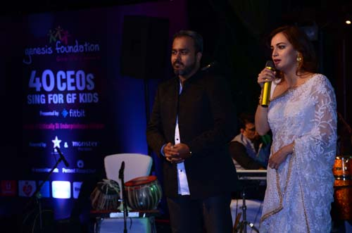 Dia Mirza at Genesis Foundation, 40 CEOs sing for a cause