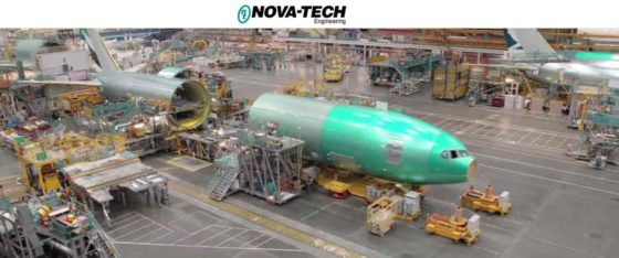 Nova-Tech is in its forty-eighth year and is well established as a premier supplier of manufacturing solutions to the worldwide aerospace industry. Headquartered in Lynnwood, Washington, it also has offices in South Carolina, Alabama, Germany, Brazil and the U.K. The company serves all the major commercial aircraft manufacturers, and is also engaged with defense work and space launch vehicles.