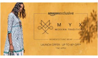 Amazon India launches in-house private fashion brand, Myx