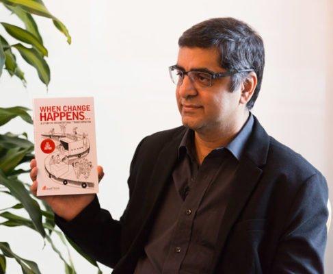 Mr Lalit Jagtani, Author, When Change Happens