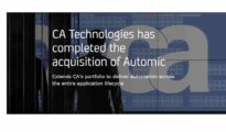 CA Technologies (NASDAQ:CA) creates software that fuels transformation for companies and enables them to seize the opportunities of the application economy. Software is at the heart of every business in every industry. From planning, to development, to management and security, CA is working with companies worldwide to change the way we live, transact, and communicate – across mobile, private and public cloud, distributed and mainframe environments. Learn more at www.ca.com.