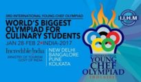 Young Chef Olympiad 2017 hosted by IIHM and supported by the Ministry of Tourism, Government of India. http://www.iihm.ac.in/