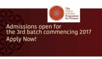 The Vedica Scholars Programme for Women (VSPW) is a unique alternative to the traditional MBA programme, which will create a cadre of successful women professionals for the 21st century. Vedica's mission is to prepare women with potential to achieve fulfilling careers. It is an 18-month full-time, residential, post-graduate certificate offered jointly by the Vedica Foundation and the Sri Aurobindo Centre for Arts and Communication.