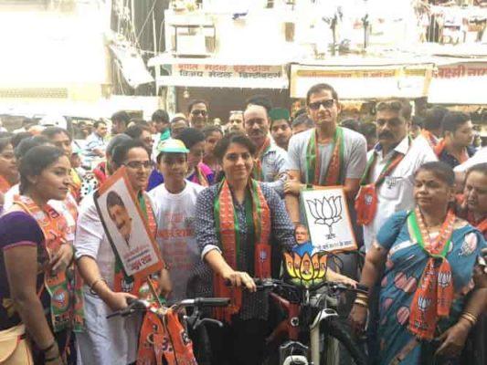 Shaina NC and Atul Shah Kickstarts BJP's Environment Friendly Campaign