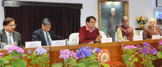 Prabhu launches first phase of SRP comprising 23 major Railway Stations