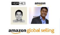 Vivek Gaur (left) Co-Founder of Yepme and Gopal Pillai (right), Director & GM, Seller Services, Amazon India