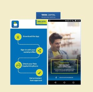 Tata Capital's One-of-a-Kind Mobile App Invites You to Check Your 'myScore' and Avail Easy Finance.