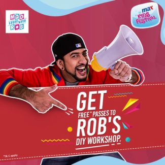 Max Kids Festival at Phoenix Marketcity Bangalore with ROB