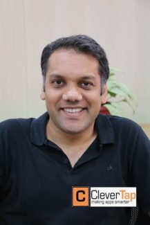Anand Jain, Co-founder CleverTap - https://clevertap.com/