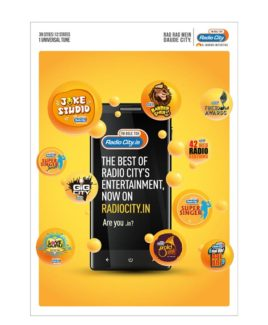 Radio City launches digital platform, radiocity.in