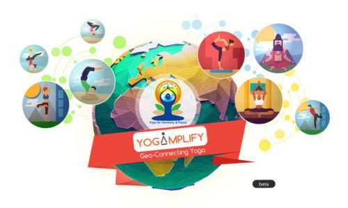 Yoga-Day App by Esri India