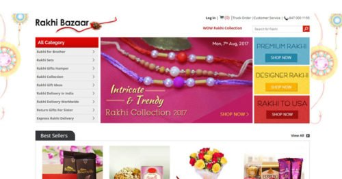 Rakhibazaar.com announces launch of Rakhi Collection 2017