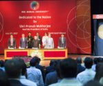 President Dedicates BML Munjal University to the Nation