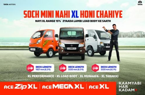 Tata Motors Launches 3 New Small Commercial Cargo Vehicles