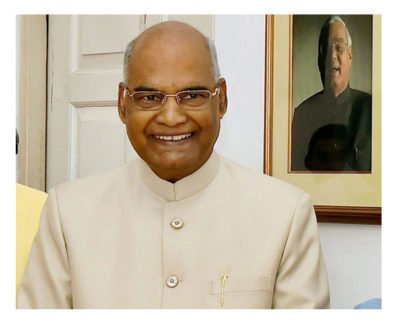 President Ram Nath Kovind: Light Our way!
