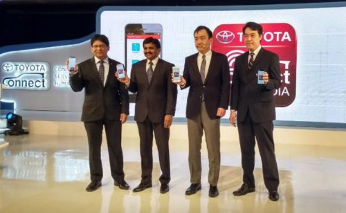 Toyota Kirloskar Motor launches smartphone application